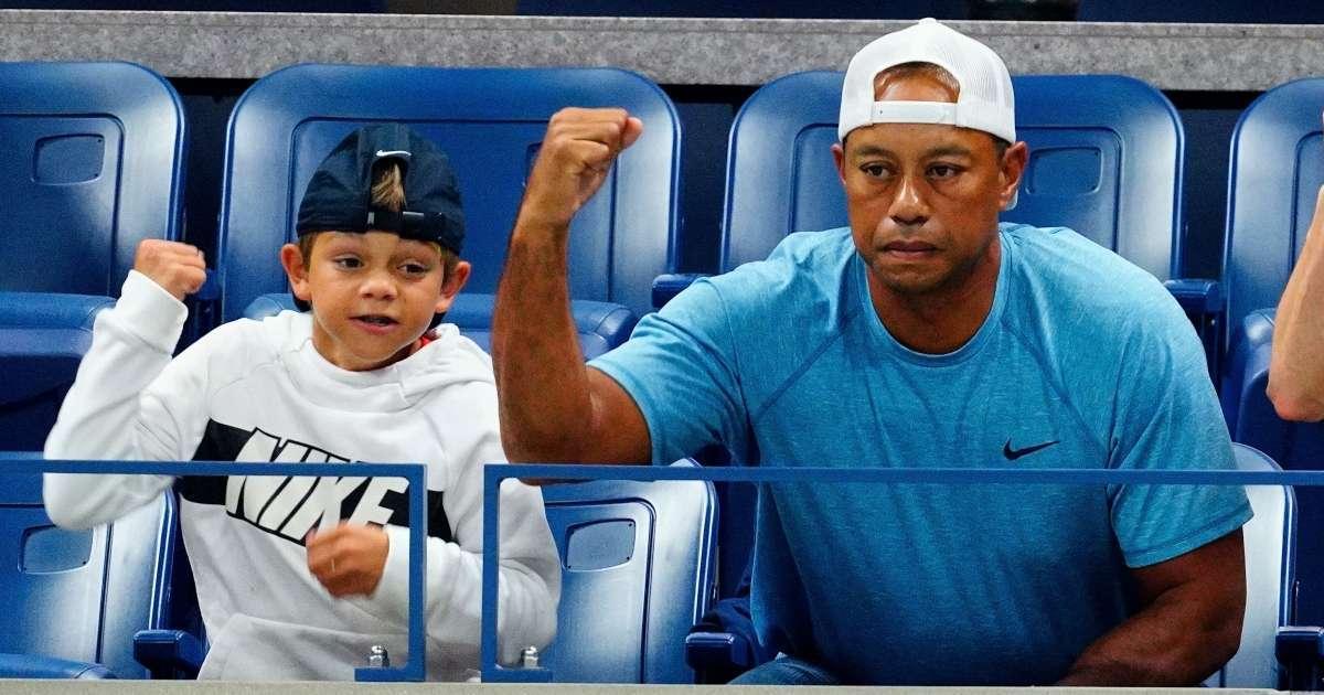 Tiger Woods team up son Charlie PNC Championship