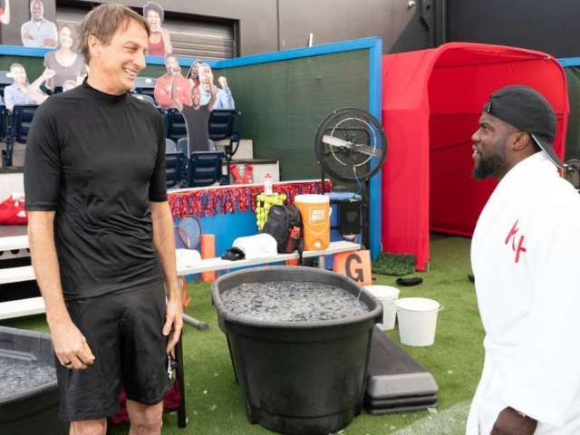 Tony Hawk Talks Being Mistaken for Tom Brady on Kevin Hart's  'Cold As Balls'