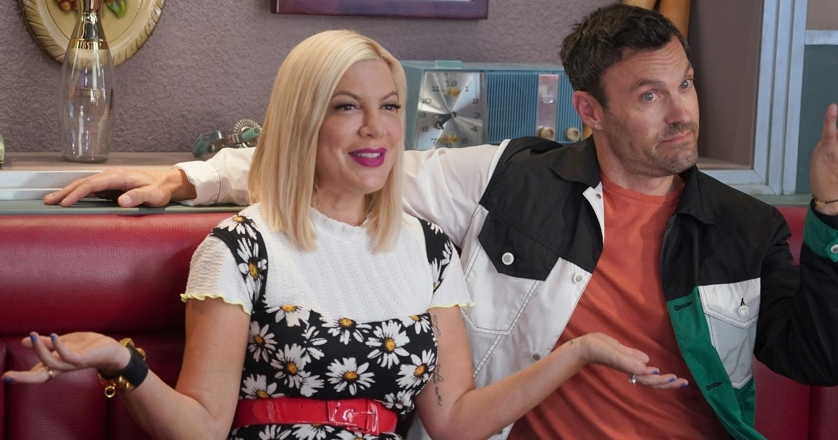 tori spelling brian austin green fox getty images