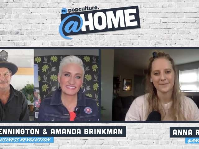 Ty Pennington and Amanda Brinkman - PopCulture @Home Exclusive Interview