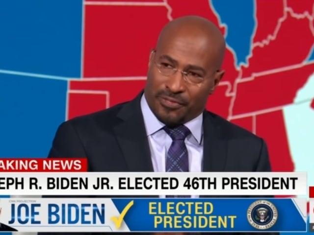 Watch: CNN's Van Jones Tears up After Joe Biden Projected as President-Elect