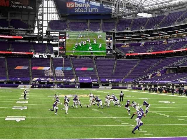 Vikings to Play Remainder of 2020 Season Without Fans at US Bank Stadium