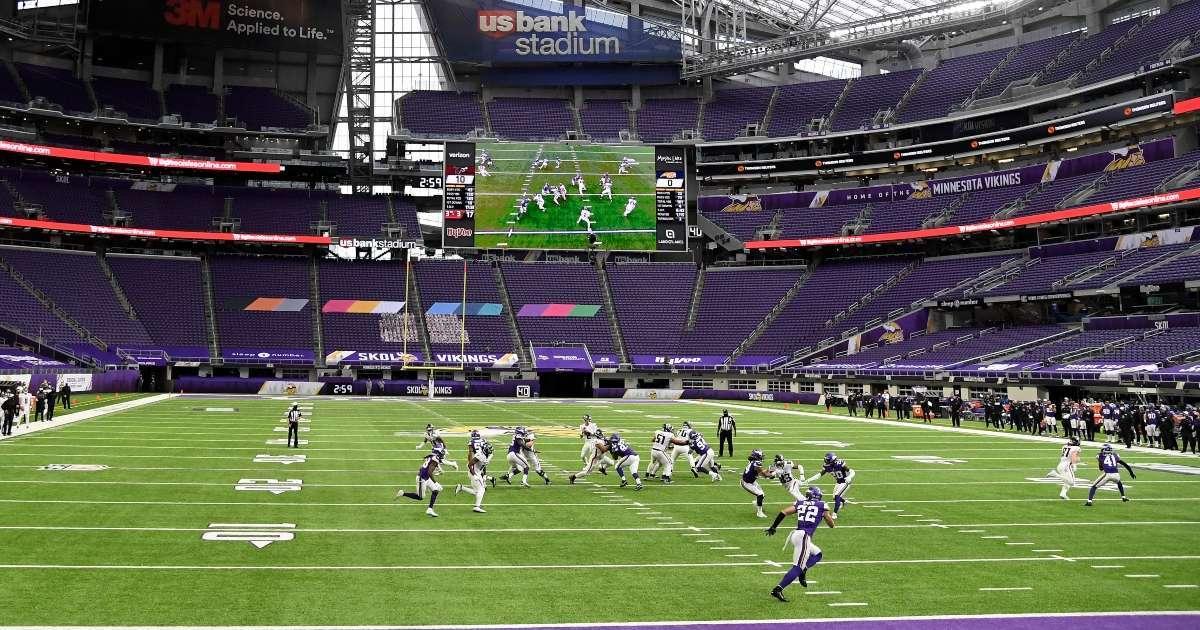 Vikings play remainder 2020 season without fans US Bank Stadium