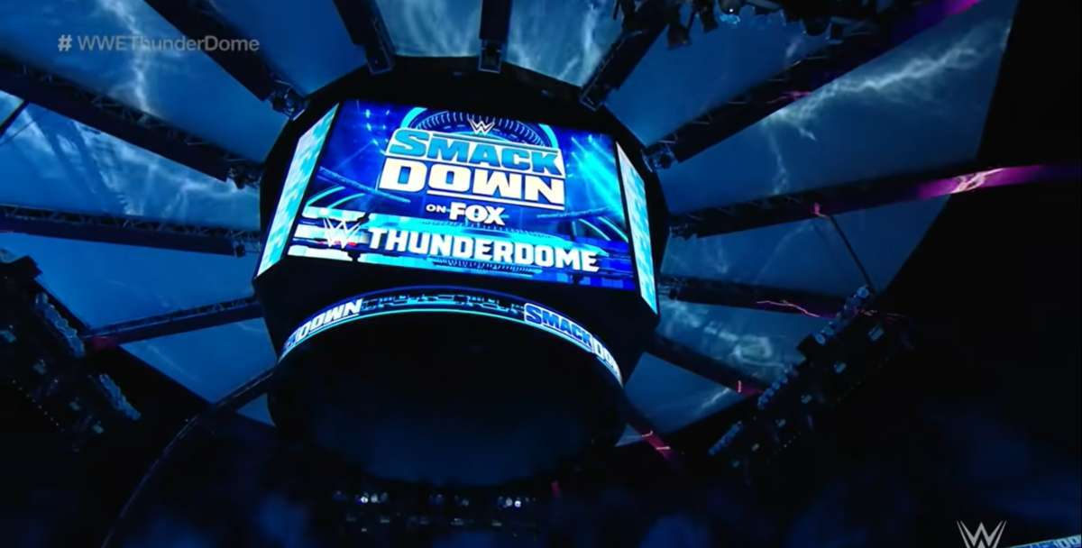 WWE ThunderDome baseball stadium