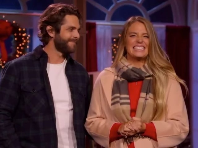 See Thomas Rhett and Lauren Akins' Hilarious Blooper Reel From 'CMA Country Christmas'