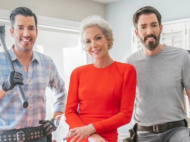 'Celebrity IOU': Allison Janney Breaks out Dazzling Gown for Renovation With Drew and Jonathan Scott in Exclusive Clip
