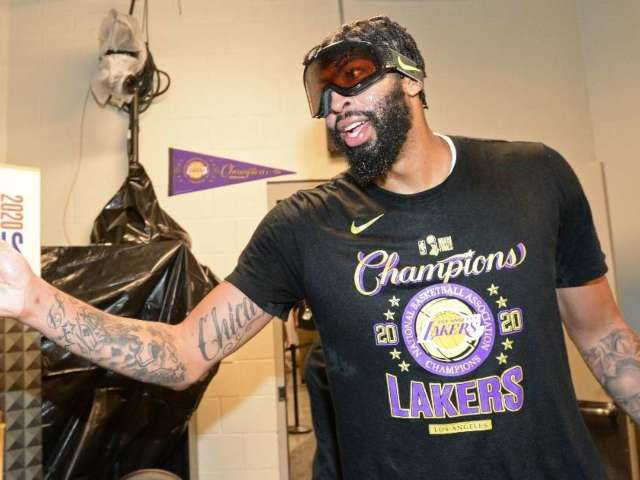 Anthony Davis Signs 5-Year, $190 Million Contract-Extension With Lakers