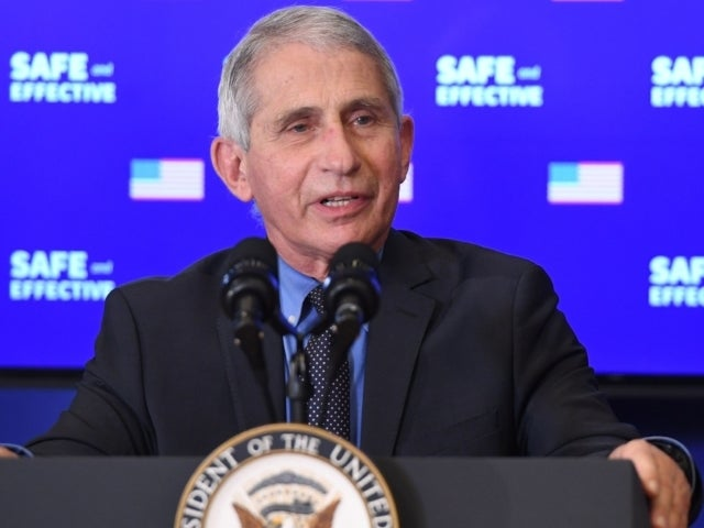 Dr. Fauci Ensures Kids He Vaccinated Santa Claus Against COVID-19