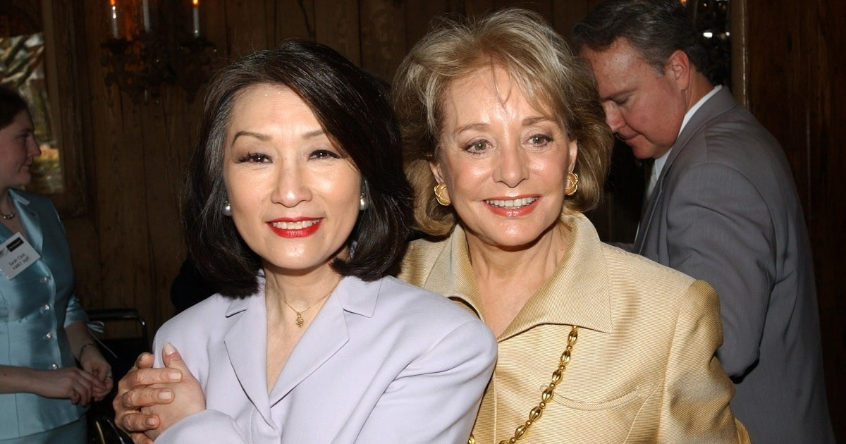 barbara walters connie chung getty images