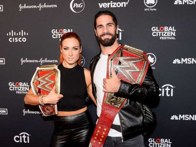 Becky Lynch and Seth Rollins Welcome First Child Together, Share First Photo