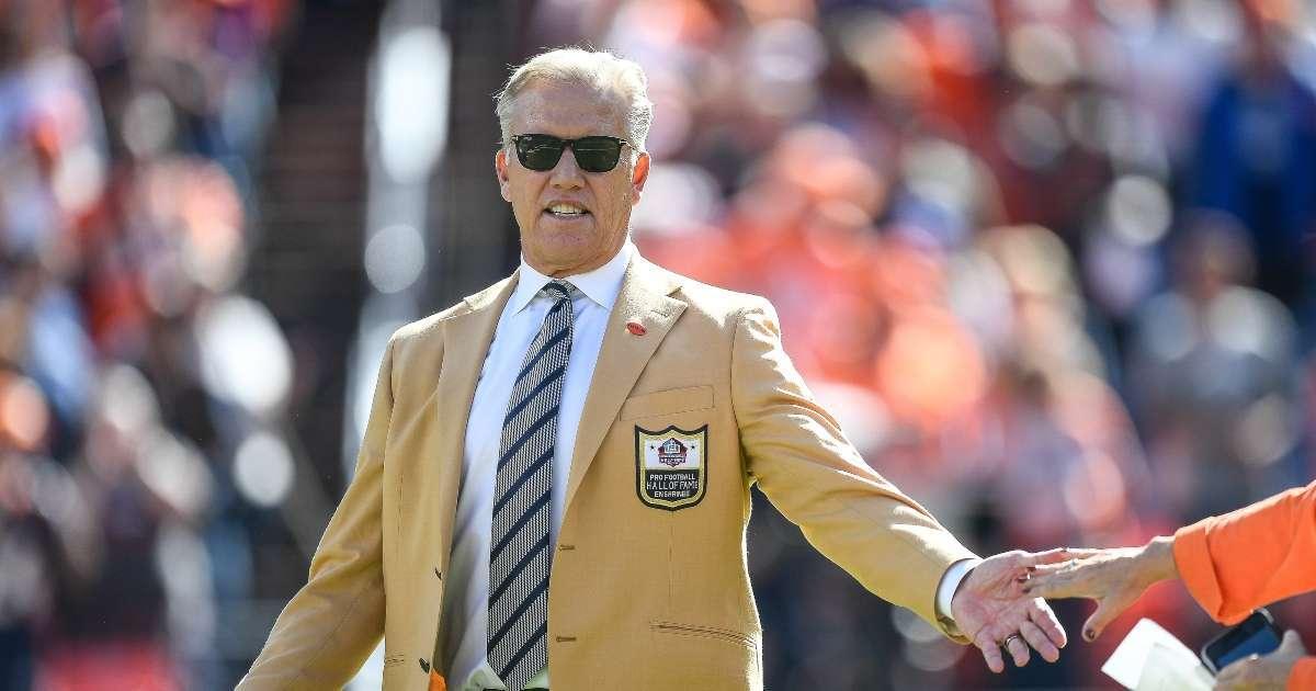 Broncos fans John Elway Suit up QB crisis