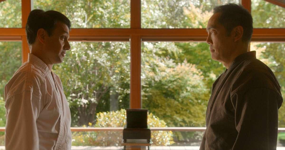 Cobra Kai Season 3 Karate Kid 2 Yuji Okumoto fight Ralph Macchio sent hospital