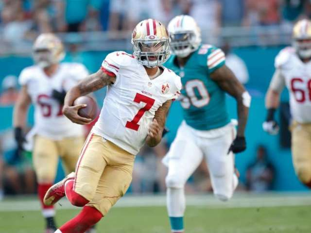 Colin Kaepernick Debut Jersey Auctioned off at Record Price