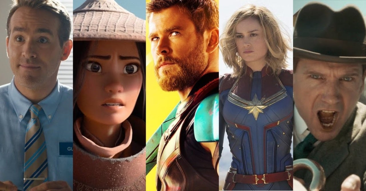 Disney Reveals New Release Dates for Dozens of Movies and ...