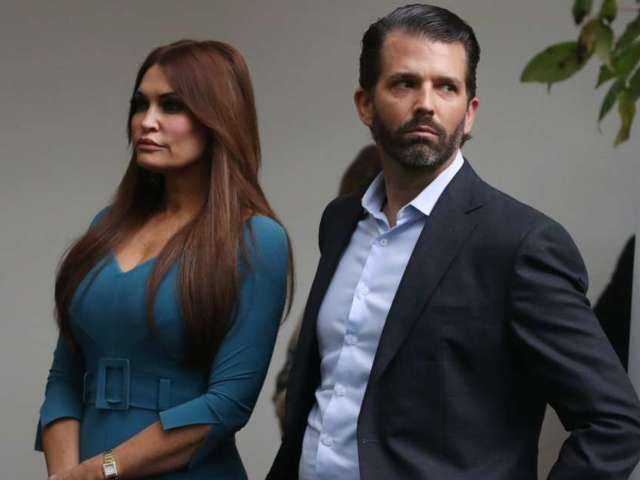 Donald Trump Jr. Faces Intense Backlash for 'Humiliating' Comments About Girlfriend Kimberly Guilfoyle in Live Video