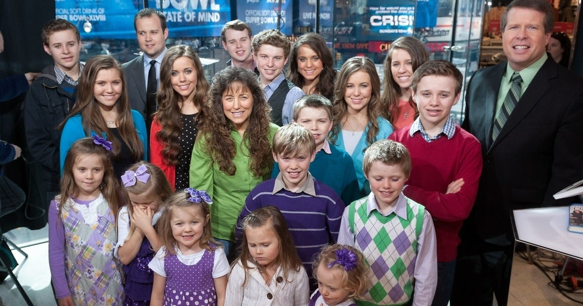 duggar family getty images