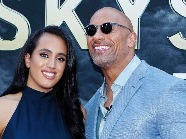 Dwayne 'The Rock' Johnson's Daughter Simone Models DX Shirt Amid WWE Training