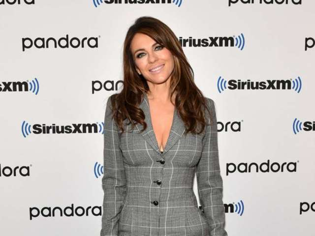 Elizabeth Hurley Posts Elegant, Revealing New Year's Photo From Her 'Family Bubble' Celebration