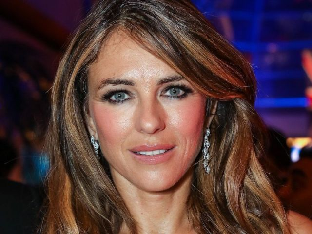 Elizabeth Hurley Shares Nightgown Throwback From 'The Royals' Set