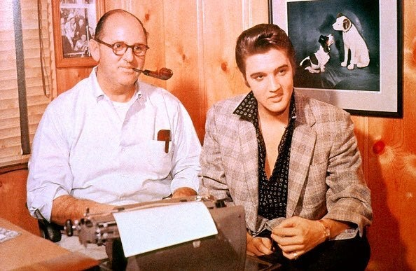 elvis and tom