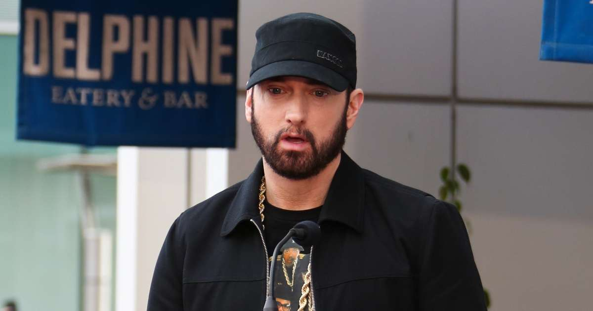 Eminem dissed lil pump listening old