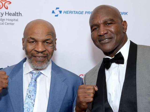Evander Holyfield Says Fight With Mike Tyson Is 'Gonna Happen'