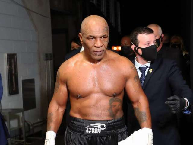 Fan Attempted to Punch Mike Tyson After Roy Jones Jr. Fight