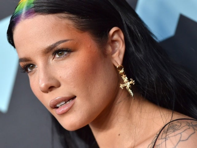 Halsey's Colorful Car Selfies Have Her Fans Swooning