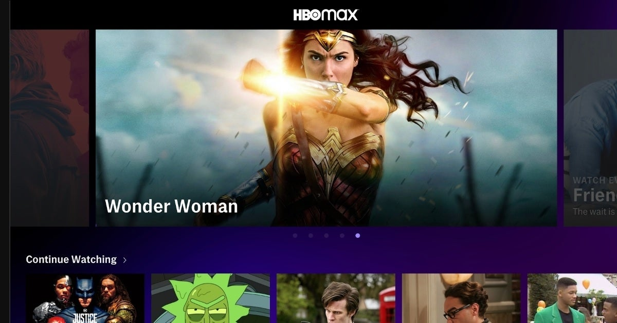 hbo max screen