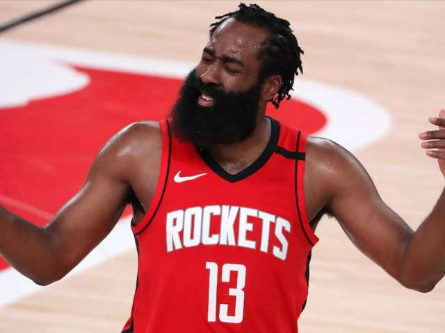 James Harden Attends Lil Baby's Birthday Party, Spotted Without Mask