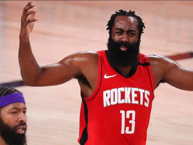 James Harden Fans Sound off About Rockets' Star's Reported Weight Gain