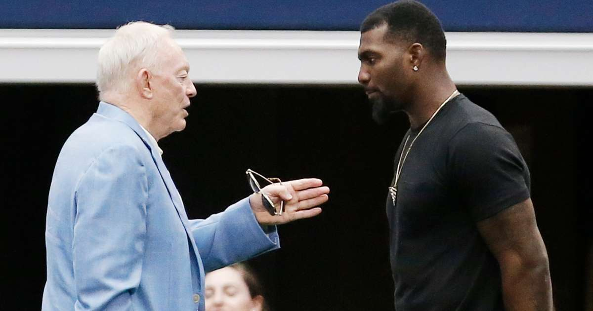 Jerry Jones reacts Dez Bryant's NFL return I couldn't be more happier