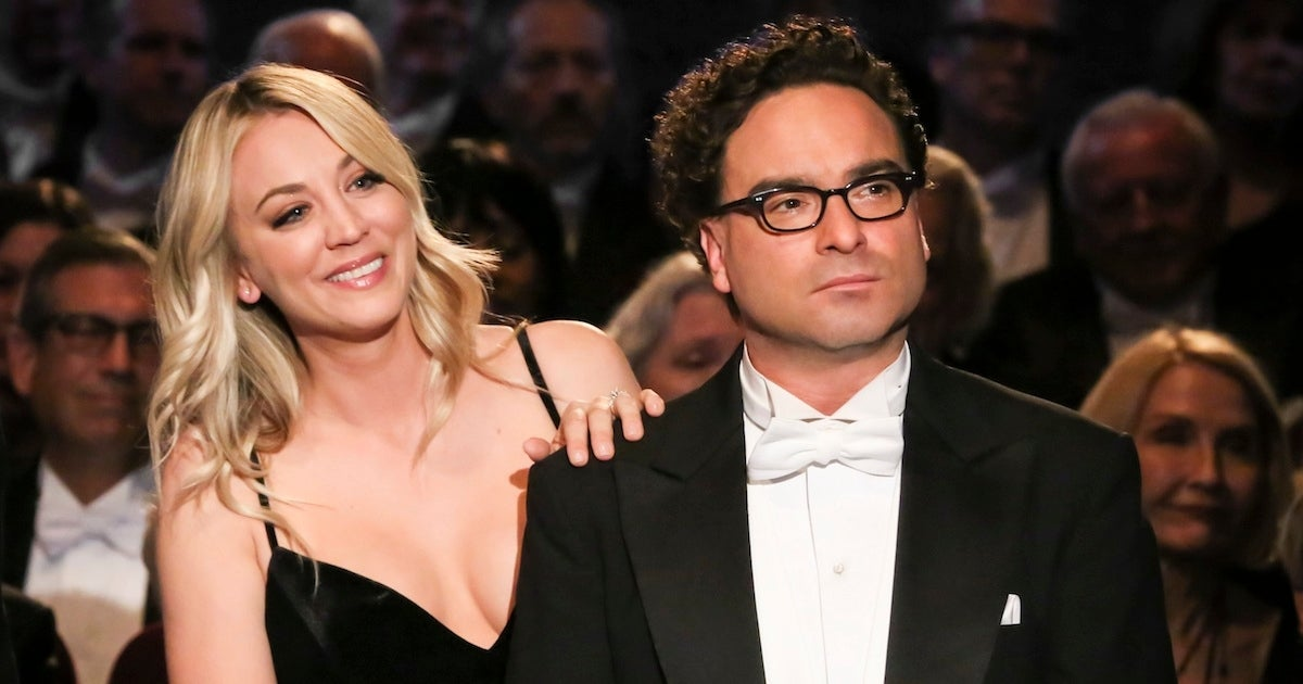 Johnny Galecki Kaley Cuoco