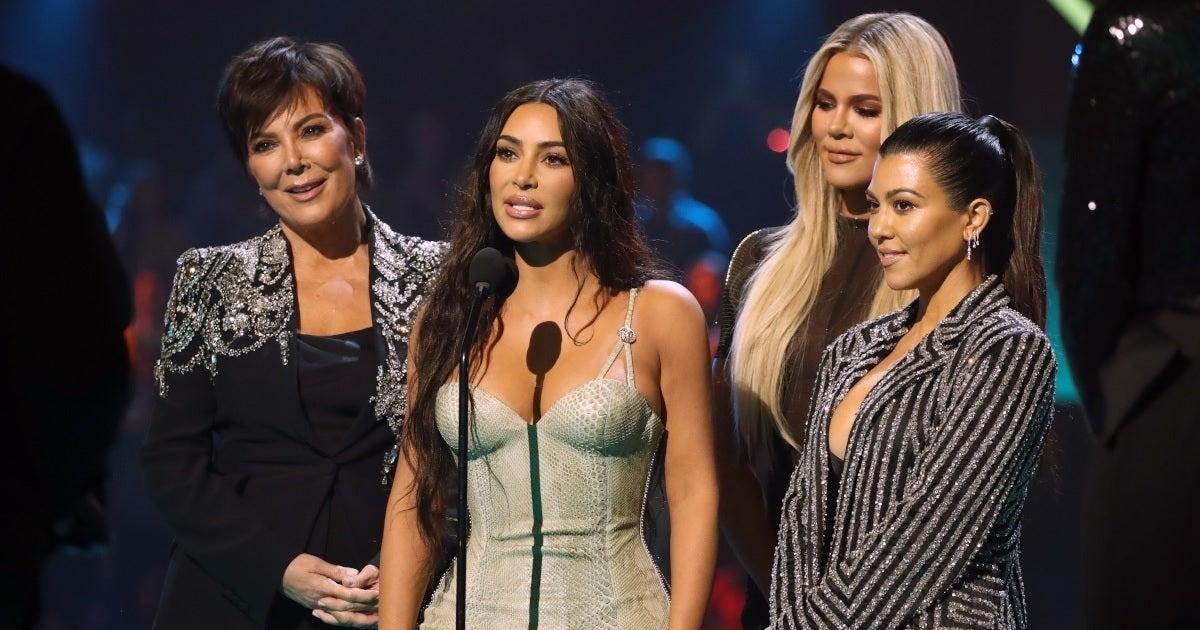 kardashians family getty images