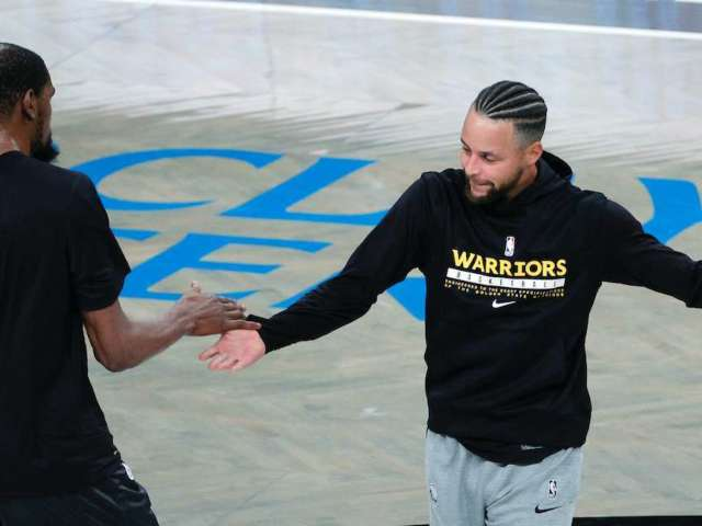 Steph Curry and Kevin Durant Return to Full Health, and NBA Fans Are Fired Up