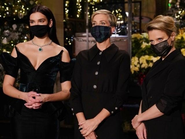 'SNL': Kristen Wiig and Dua Lipa Make Christmas Threats With Kate McKinnon Ahead of Final 2020 Episode