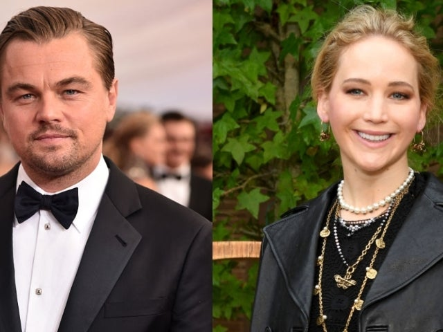 Leonardo DiCaprio and Jennifer Lawrence Are Unrecognizable in Set Photos of New Netflix Movie