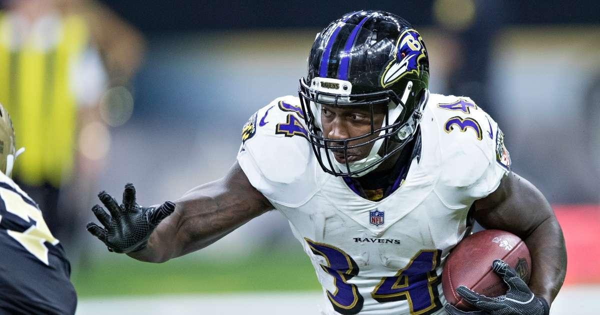 Lorenzo Taliaferro former Baltimore Ravens running back dead 28