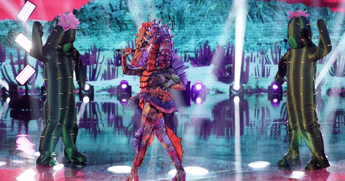 masked-singer-seahorse-getty