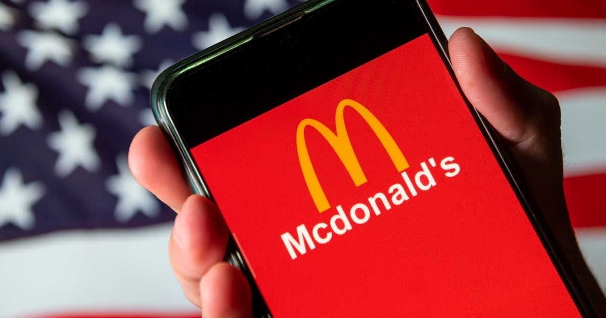 mcdonald's app getty images