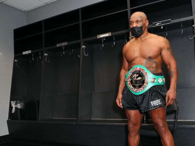 Mike Tyson Fans Can't Believe Fan Tried to Punch Him After Roy Jones Jr. Fight