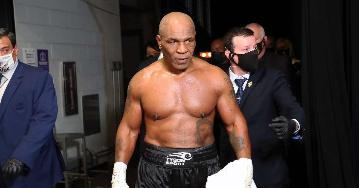Mike Tyson boxing legend best snaps 2020