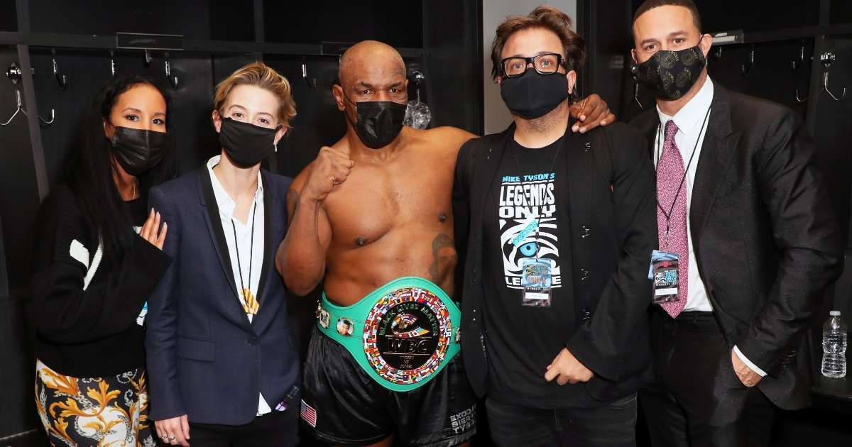 Mike Tyson high Roy Jones Jr Fight Never stopped smoking