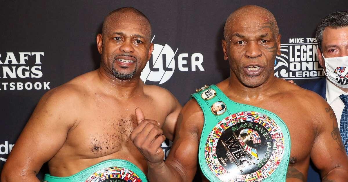 Mike Tyson sends message fans Roy Jones Jr Fight