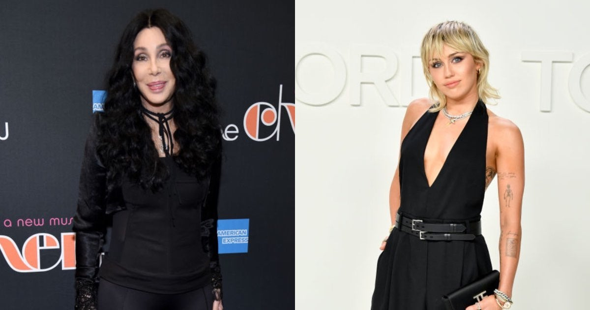 miley and cher-2