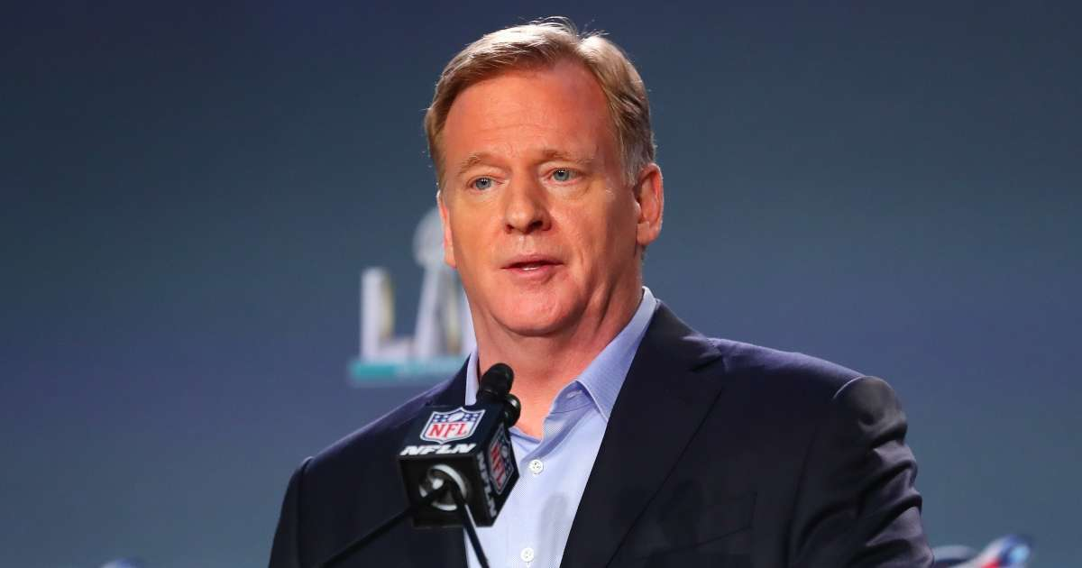NFL commissioner Roger Goodell unsure in-person attendance Super Bowl