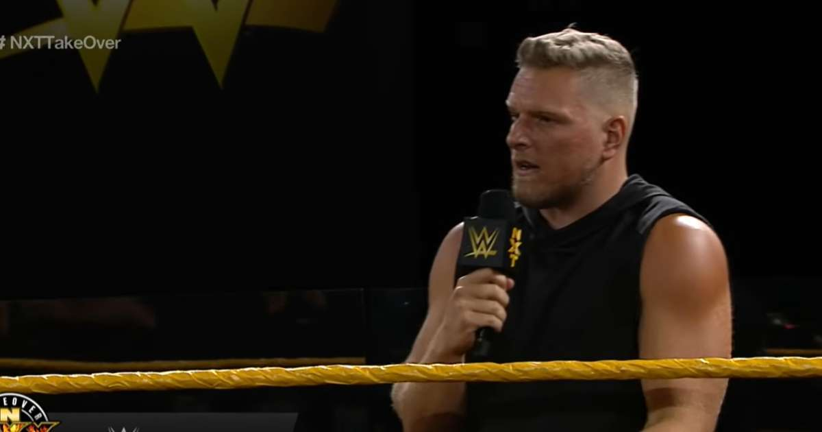 Pat McAfee off WWE TV for a bit