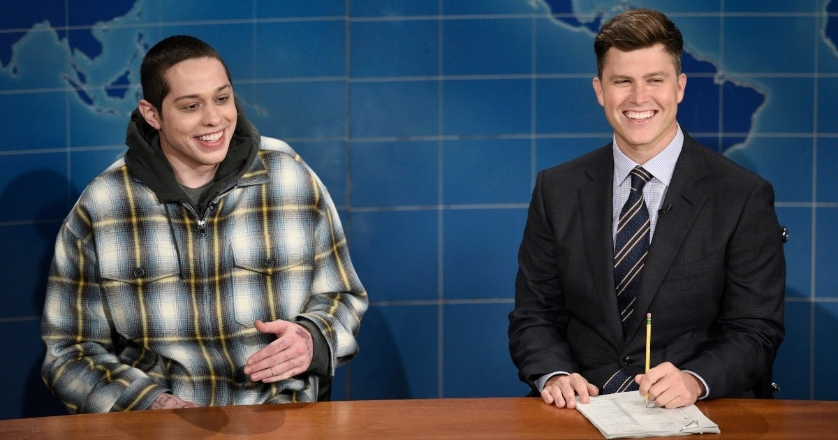 pete davidson weekend update nbc getty images