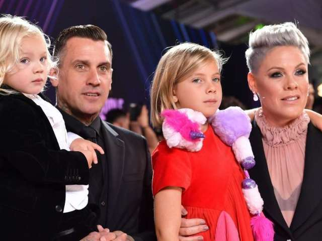 Pink's Husband Carey Hart's Shooting Photo With Son Sparks Lots of Discourse