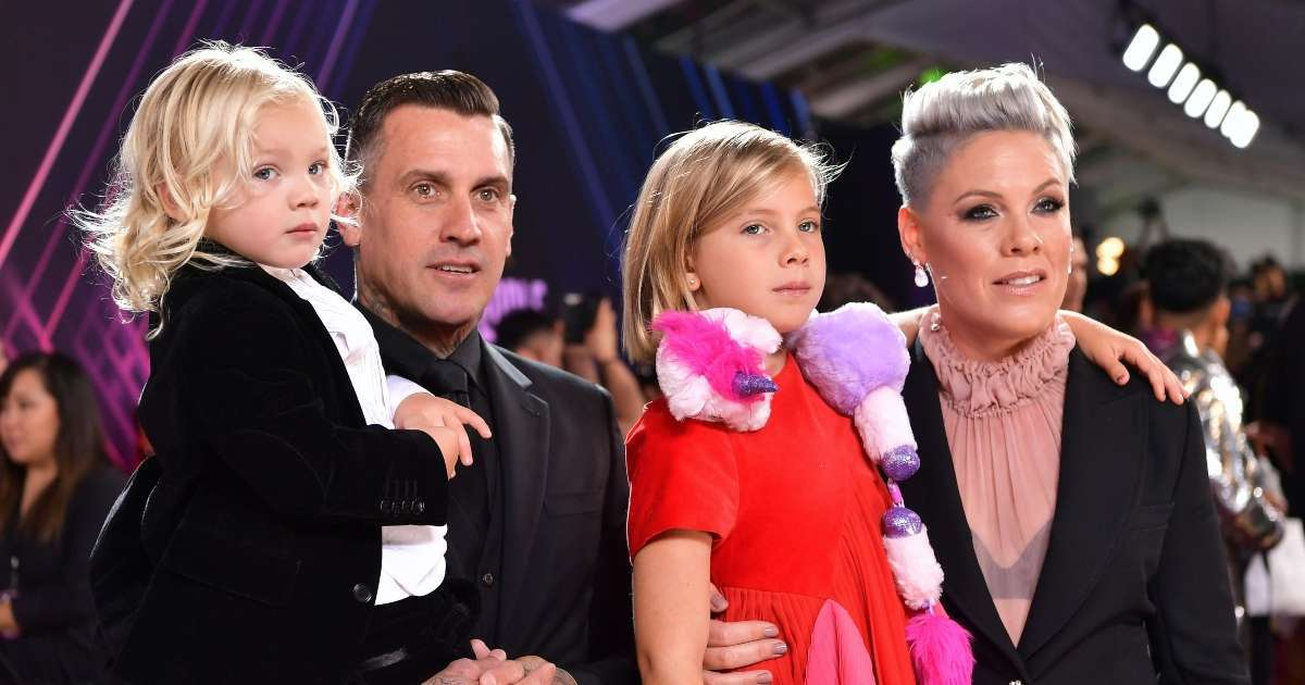 Pink's Husband Carey Hart shooting photo son sparks discourse
